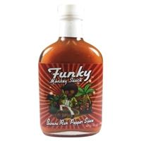 Funky Monkey Banana Rum Pepper Sauce