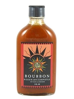 Spice Exchange Bourbon Rosemary Chipotle Hot Sauce and Marinade