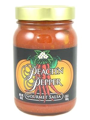 Peach 'N Pepper Gourmet Salsa