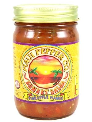 Tahiti Joe's Maui Pepper Sunset Salsa Pineapple Medium