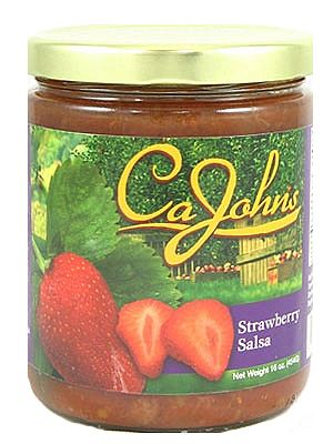 CaJohn's Gourmet Strawberry Salsa