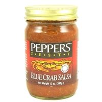 Peppers Zesty Blue Crab Salsa