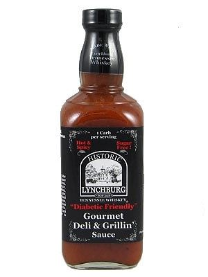 Lynchburg Tennessee Whiskey, Diabetic Friendly, Gourmet Deli and Grillin Sauce