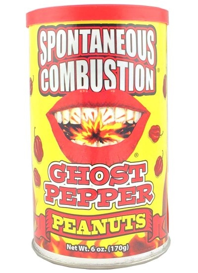 Spontaneous Combustion Peanuts