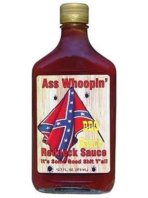 Ass Whoopin Redneck Red BBQ Sauce