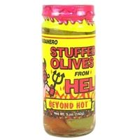 Habanero Stuffed Olives From Hell