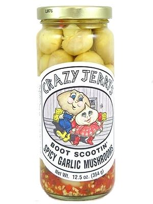 Crazy Jerry's Boot Scootin Garlic Mushrooms