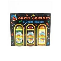 Dave's Gourmet Spicy Three Pack