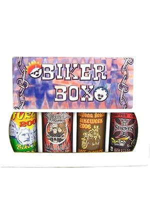 Biker Box Hot Sauce Gift Set