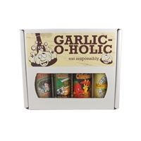Garlic-O-Holic Hot Sauce Gift Set