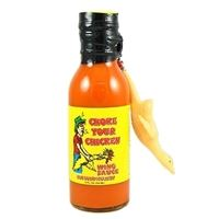 Choke Your Chicken Wing Sauce w/ Giant Chicken Keychain