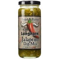 Texas Longhorn (Fiesta) Bread and Butter Jalapeno Dip Mix