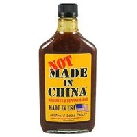 Not made In China BBQ and Dipping Sauce