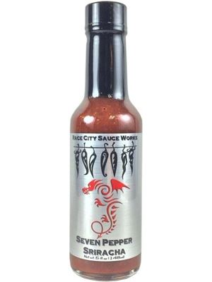 Race City Sauce Works Seven Pepper Sriracha Sauce