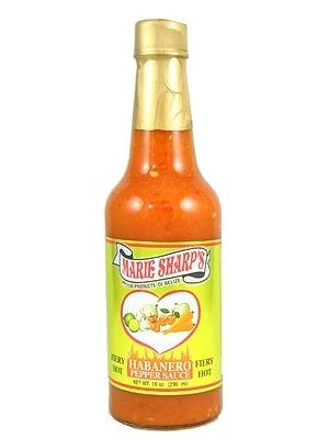 Marie Sharp's Fiery Hot Red Habanero Sauce