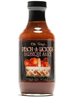 Ole Ray's Peach-A-Licious Barbecue Sauce