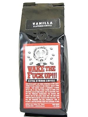 Wake The Fuck Up! Coffee Vanilla Flavor