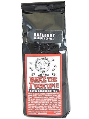Wake The Fuck Up! Coffee Hazelnut Flavor