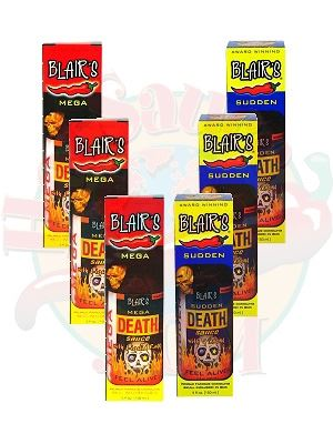 Blair's Mega Death Sauce Six Pack