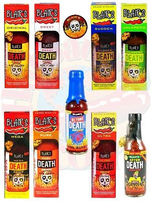 Blair's Ultimate 9 Death Sauce Gift Set