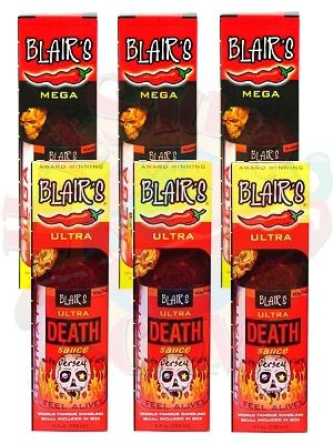 Blair's Mega and Ultra Death Sauce Gift Set