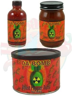 Da' Bomb Jolokia Ghost Snacks Gift Set