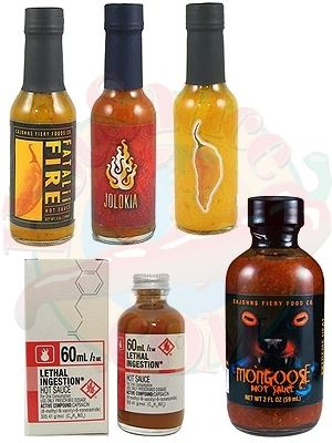 Fatalii Collectors Hot Sauces Gift Set