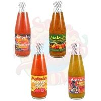 Matouk's West Indian Hot Sauces 4 Pack