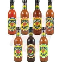 Ring of Fire Hot Sauce Complete Set