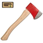 "Council Tools 1.25# Hunter's Axe with 14"" Handle"