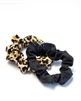 Mini Scrunchie Set of 2 - Leopard Print