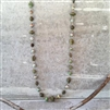 Signature Necklace Long - Mountain Green