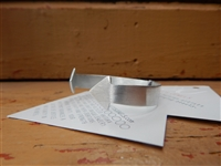 Recycled Aluminum Arrow Cuff