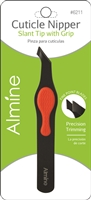 Almine Stainless Steel Cuticle Nipper w/ Silicone Grip