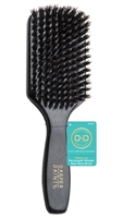D&D Glossy Lux Rectangular Wooden Boar Wave Brush