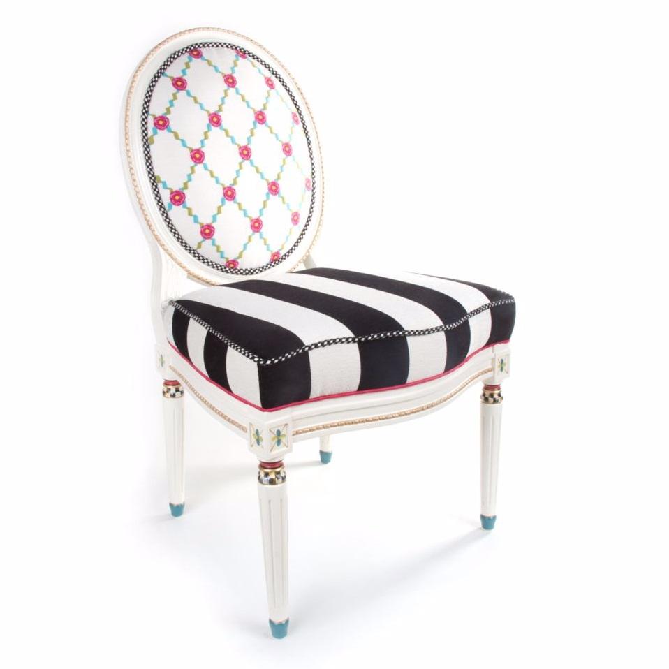 MacKenzie Childs Merrifield Side Chair