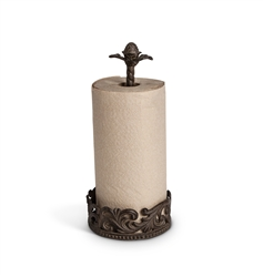 The GG Collection Metal Paper Towel Holder