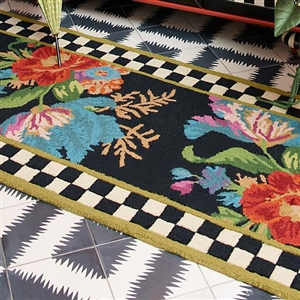 Mackenzie childs area rugs for Mackenzie childs fish rug