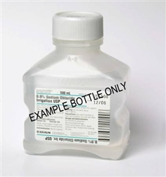 Sterile Water for Irrigation Solution (500 mL)