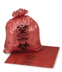 "ULTRA-TUFF Infectious Waste Biohazard Bag 11x14"" (50/box)"
