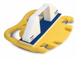 "Head Immobilizer Sta-Blockâ""¢ 22-1/2 X 5-1/2 Inch Occipital Pad / Polyethylene / Pre-Formed Foam Velcro* Hook and Loop IMMOBILIZATION DEVICE, HEAD STA-BLOCK"