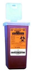 "Medi-Pakâ""¢ Multi-purpose Sharps Container - 1qt"