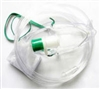 Non-Rebreather Oxygen Mask w/ 7' supply tubing - Adult