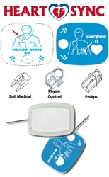 Zoll Cardiac Defibrillation & Pacing Pads - Adult (Pair)