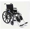 "Wheelchair K4, Basic, 18"", Rdla, S/A Foot"
