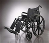 Wheelchair-PLUS,K4,Adj,Dla,S/A Ft,Anti-Tip - 1 EA