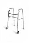 "Folding Paddle Walker with 5"" Wheels, Adult"