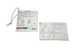 Tactical Combat Casualty Care Documentation Card - 10 Pack (Marine Corp Edition)