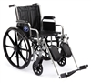 wheelchair, hybrid,fix fl arm,sa ft - MDS806150HBD