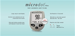 Microdot® Xtra Glucometer